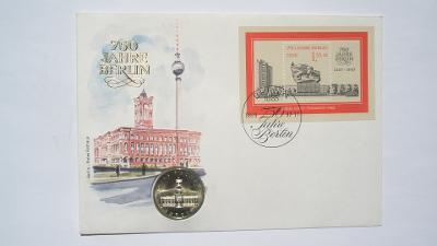 NDR 5 marka 1987 A Rotes Rathaus 750 let Berlina