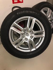 nové Originál letní pneu+ Alu disky