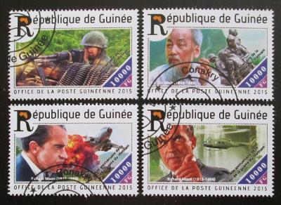 Guinea 2015 Vietnamská válka Mi# 11138-41 Kat 16€ 1548