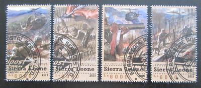 Sierra Leone 2015 Konec Vietnamské války Mi# 6647-50 Kat 11€ 1549