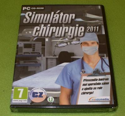 Hra pro PC SIMULÁTOR CHIRURGIE 2011