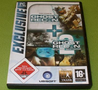Hra pro PC TOM CLANCY'S GHOST RECON: ADVANCED WARFIGHTER 1, 2