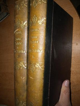 Holub Emil - Sieben Jahre in Süd Afrika - 1-2 - 1881 - německy