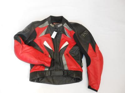 Kožená bunda iXS vel. S- chrániče