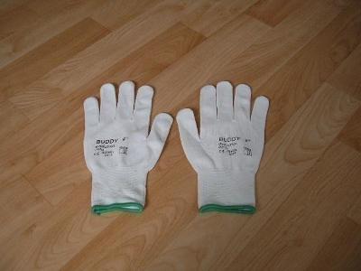 Pracovní rukavice BUDDY vel.8