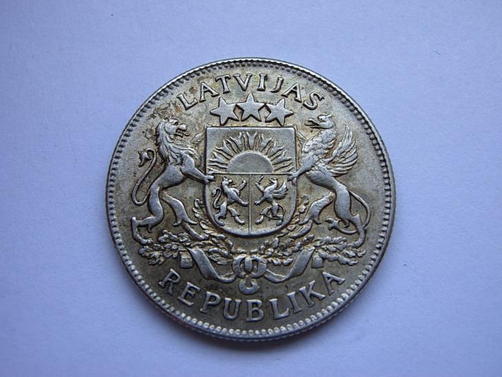 2 Lati 1925 - Numismatika