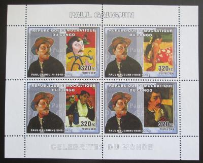 Kongo Dem. 2006 Umění, Paul Gauguin Mi# N/N 0823