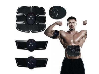 Body-Fit Elektrostimulátor, bandáž k posílení svalů 6pack EMS + dárek