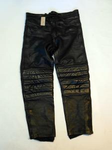 Kožené kalhoty vel. 56 - obvod pasu: 88 cm
