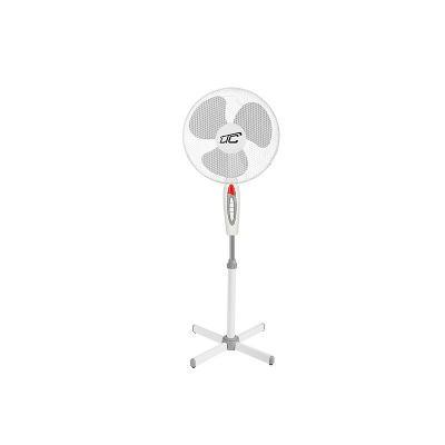 """Stojící ventilátor LTC WT01 40W, 16 """" bílý, velmí tichý a silný"""