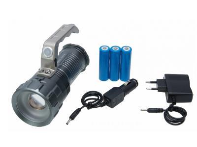 Nabíjecí svítilna cree led baterka CREE XM-L T6 + dárek