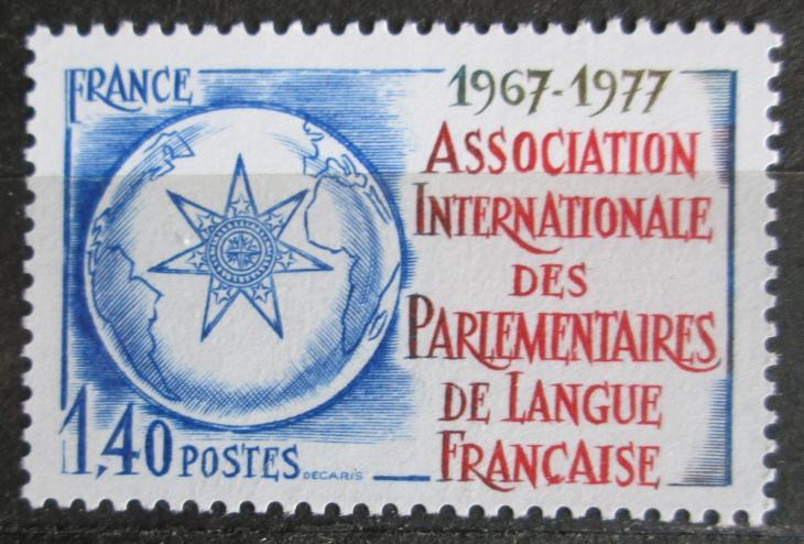 Francie 1977 Asociace francouzských poslanců Mi# 2040 0845 - Filatelie