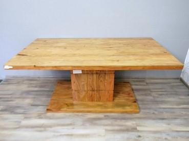 Jídelní stůl BRONKS dřevo akácie masiv (18873A) DOPRAVA ZDARMA