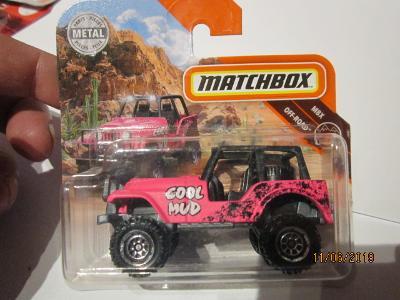 Matchbox  angličák  60 Jeep4x4