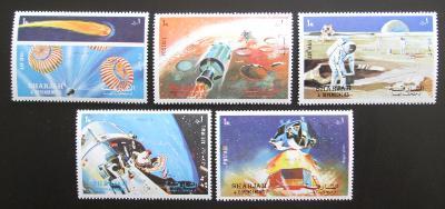Šardžá 1972 Mise Apollo 16 Mi# 982-86 1565
