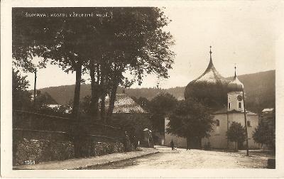 ŽELEZNÁ RUDA (Eisenstein) - kostel - Šumava - Klatovy