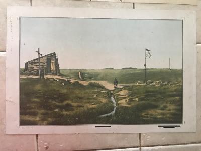 Školní plakát Labský pramen, Labe , Krkonoše , Špindlerův Mlýn