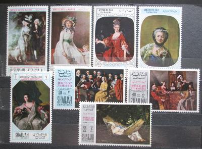 Rás al-Chajma 1968 Umění, Den matek Mi# 218-25 1569
