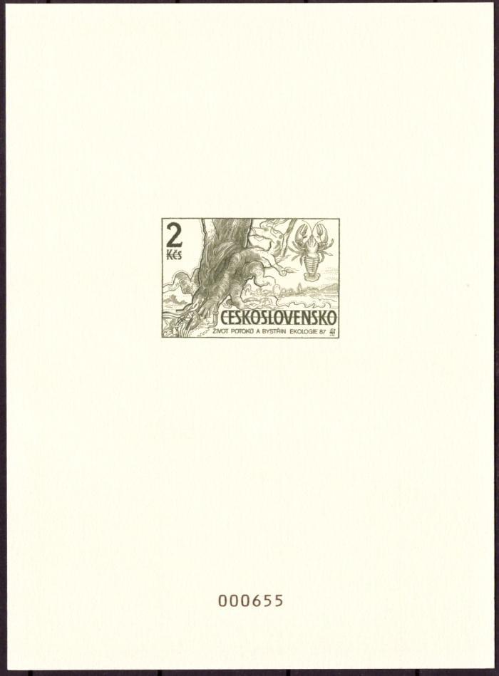 ČR - PŘÍLEŽITOSTNÝ TISK, MERKUR REVUE 1997, EKOLOGIE 2 KČS (T7974) - Filatelie