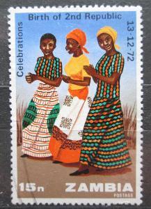 Zambie 1973 Tanečnice Mi# 118 0867