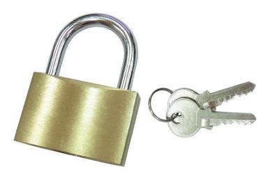 Visací zámek se 2 x klíčky nejen pro cestovní kufr 0015