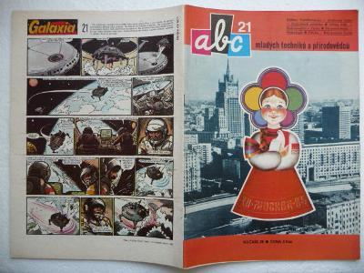 Časopis - ABC - 29.ročník - číslo 21. z roku 1985 - (Vyšlo 15.7.1985)