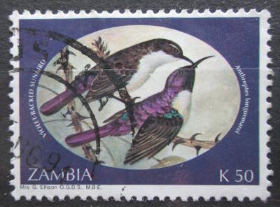 Zambie 1994 Ptáci Mi# 626 0869