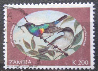Zambie 1994 Ptáci Mi# 631 0869