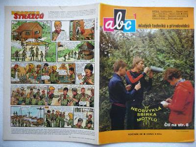 Časopis - ABC - 28.ročník - číslo 1. z roku 1983 - (Vyšlo 9.9.1983)