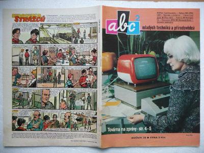 Časopis - ABC - 28.ročník - číslo 2. z roku 1983 - (Vyšlo 23.9.1983)