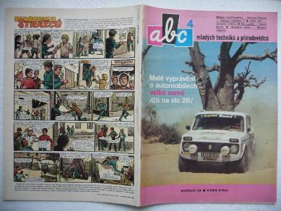 Časopis - ABC - 28.ročník - číslo 4. z roku 1983 - (Vyšlo 28.10.1983)