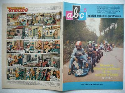 Časopis - ABC - 28.ročník - číslo 5. z roku 1983 - (Vyšlo 11.11.1983)