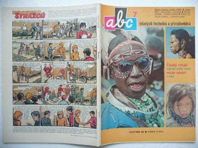 Časopis - ABC - 28.ročník - číslo 7. z roku 1983 - (Vyšlo 9.12.1983)