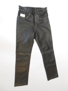 Kožené kalhoty - vel.M/50