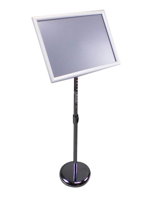 Informační stojan A3 s podstavcem, reklamní tabule, klaprám (RRA3N) - Vybavení obchodu