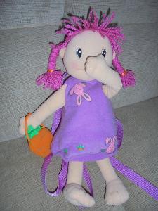 Velká panenka MAGGIE RAGGIES -Zapf Creation batůžek
