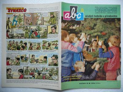 Časopis - ABC - 28.ročník - číslo 8. z roku 1983 - (Vyšlo 23.12.1983)