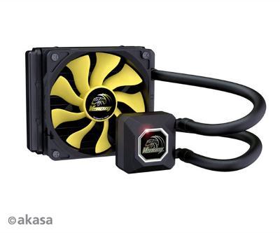 Vodní chladič AKASA CPU Venom A10 dominový efekt záruka sleva!