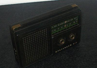 Staré rádio ALPINIST 418