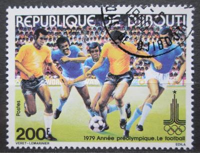 Džibutsko 1979 LOH Moskva, fotbal Mi# 261 0921