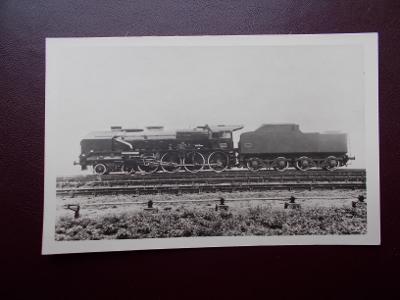 Pohlednice doprava lokomotiva železnice dráha