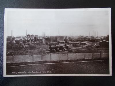 Karviná Nový Bohumín Oderberg Rafinerie železnice cisterna vagon trať