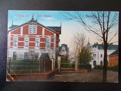 Karviná Starý Bohumín Oderberg Vila Schmis u nádraží