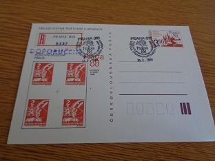 ČSSR - Příl.dop. Praga 88 - Košické vydání - R - raz. viz. foto