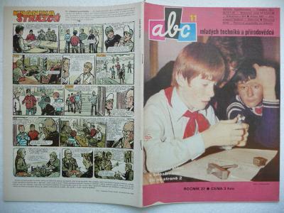 Časopis - ABC - 27.ročník - číslo 11. z roku 1983 - (Vyšlo 11.2.1983)