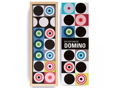 Domino v moderní podobě, dřevěná skládačka