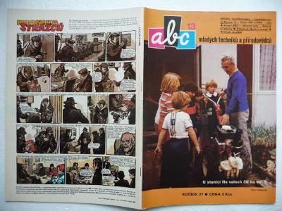 Časopis - ABC - 27.ročník - číslo 13. z roku 1983 - (Vyšlo 11.3.1983)
