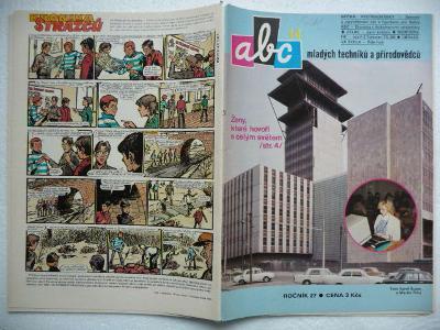 Časopis - ABC - 27.ročník - číslo 14. z roku 1983 - (Vyšlo 25.3.1983)