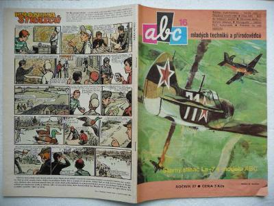 Časopis - ABC - 27.ročník - číslo 16. z roku 1983 - (Vyšlo 29.4.1983)