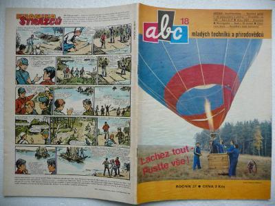 Časopis - ABC - 27.ročník - číslo 18. z roku 1983 - (Vyšlo 27.5.1983)